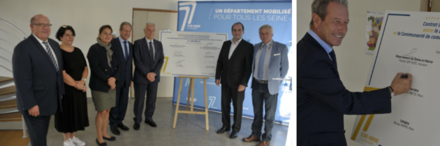 Signature officielle du Contrat Intercommunal de Développement (CID)
