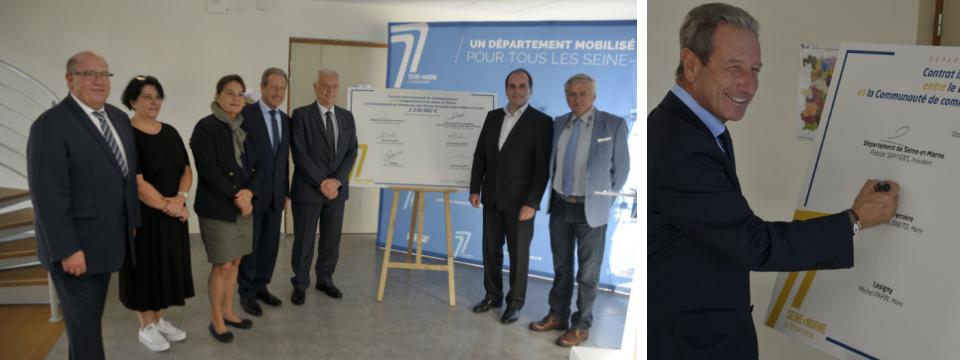 Signature officielle du Contrat Intercommunal de Développement (CID)