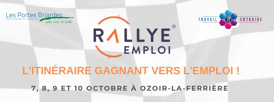 Rallye Emploi 6ème édition