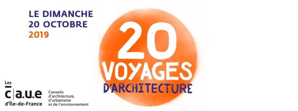 20 voyages d'architectures