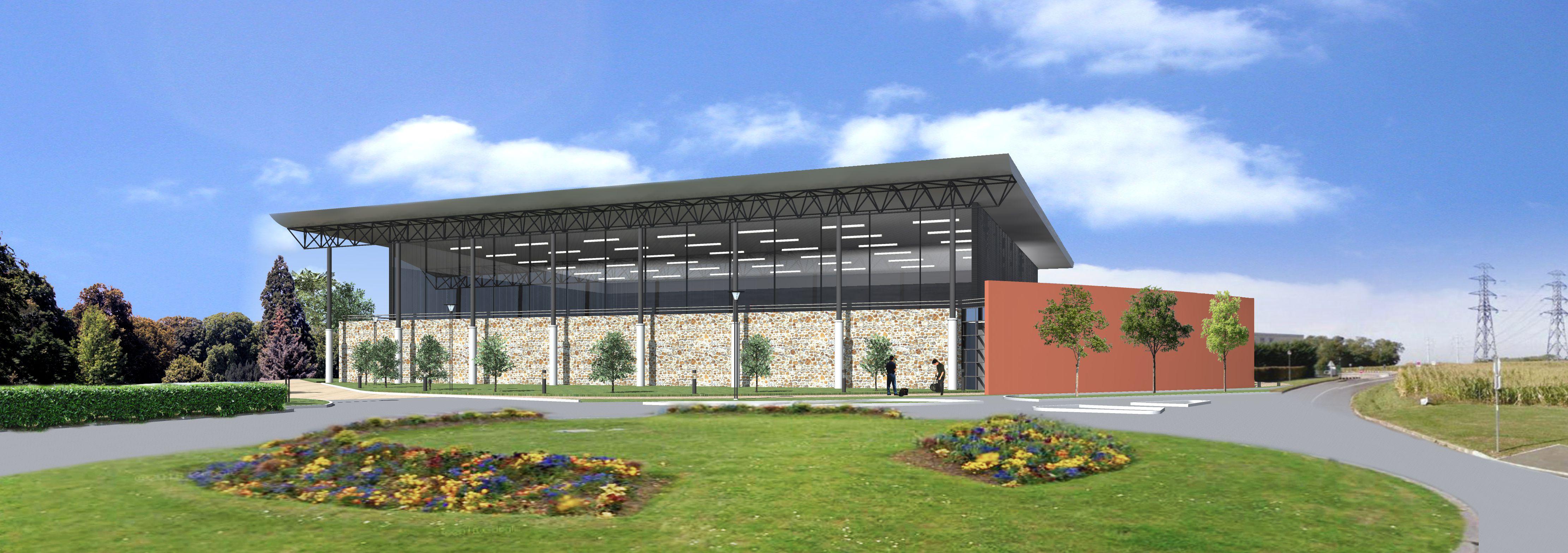 Construction d'une salle de gymnastique intercommunale à Lésigny