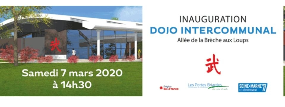 Inauguration du Dojo intercommunal
