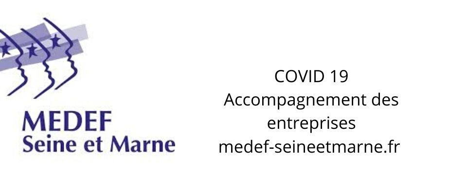 Covid 19 – Accompagnement des entreprises MEDEF