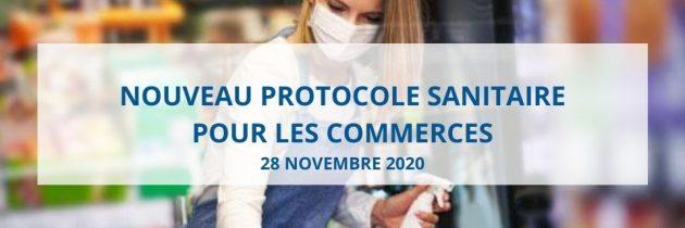 Nouveau protocole sanitaire renforcé pour les commerces