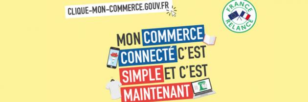 Un chèque numérique de 500 € pour l'acquisition de solutions numériques de vente à distance