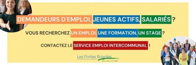 Service emploi intercommunal : accueil, écoute et accompagnement vers l'emploi durable