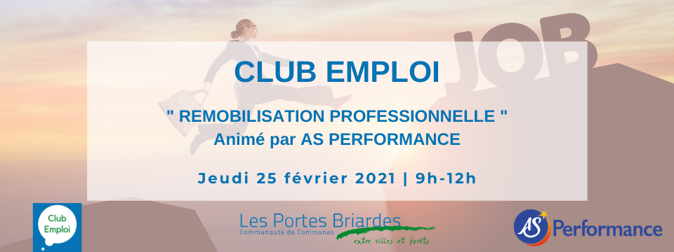 Club Emploi » remobilisation professionnelle «