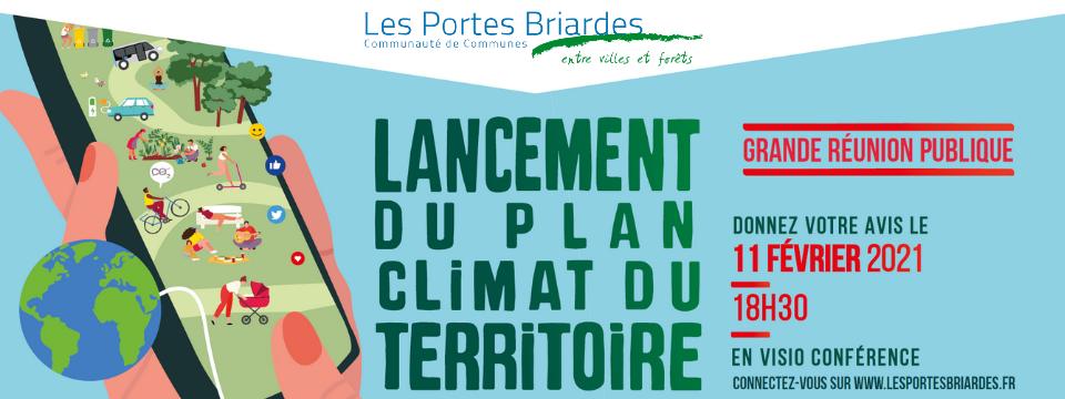 Lancement du Plan Climat du territoire