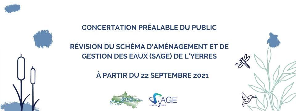 Révision du SAGE de l'Yerres : concertation public