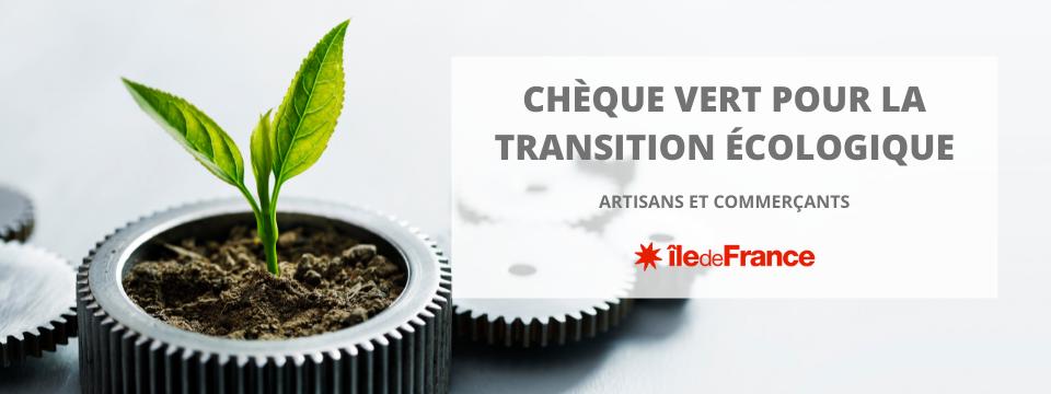 Chèque vert pour la transition écologique